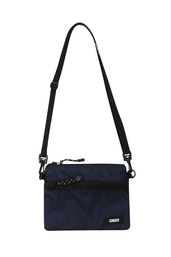 19 SUMMER CHUCK POUCH BODY CROSS BAG (NAVY)