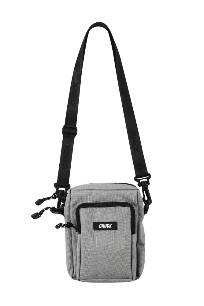19 SUMMER CHUCK CORDURAⓇ BODY CROSS BAG (LIGHT GRAY)
