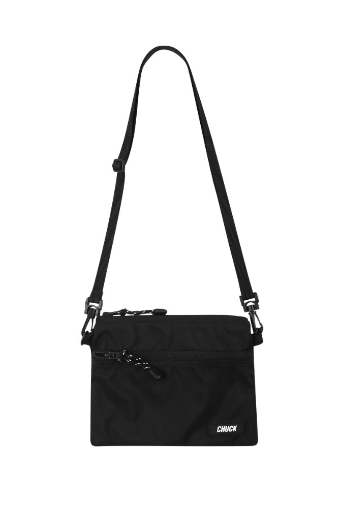 19 SUMMER CHUCK POUCH BODY CROSS BAG (BLACK)