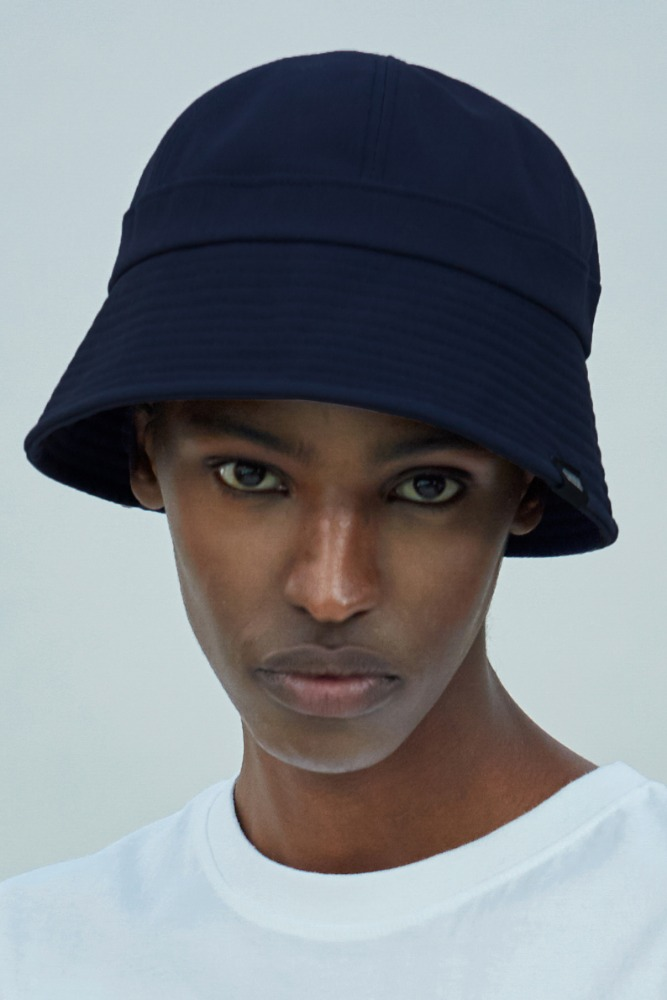 19 SUMMER CHUCK MIX BUCKET HAT (NAVY)