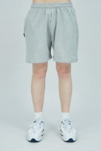 19 SUMMER CHUCK LOGO SWEAT SHORTS (GRAY)