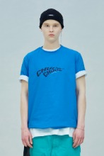 19 SUMMER CHUCK SHOOTING LOGO T-SHIRT (LIGHT BLUE)