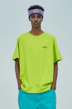 19 SUMMER CHUCK SMALL LOGO T-SHIRT (LIME)
