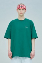19 SUMMER CHUCK SMALL LOGO T-SHIRT (GREEN)