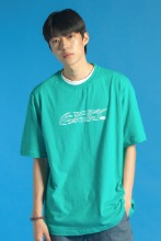 19 SUMMER CHK LOGO T-SHIRT (MINT GREEN)